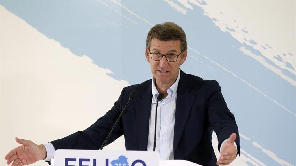 Núñez Feijóo descarta el relevo a Rajoy