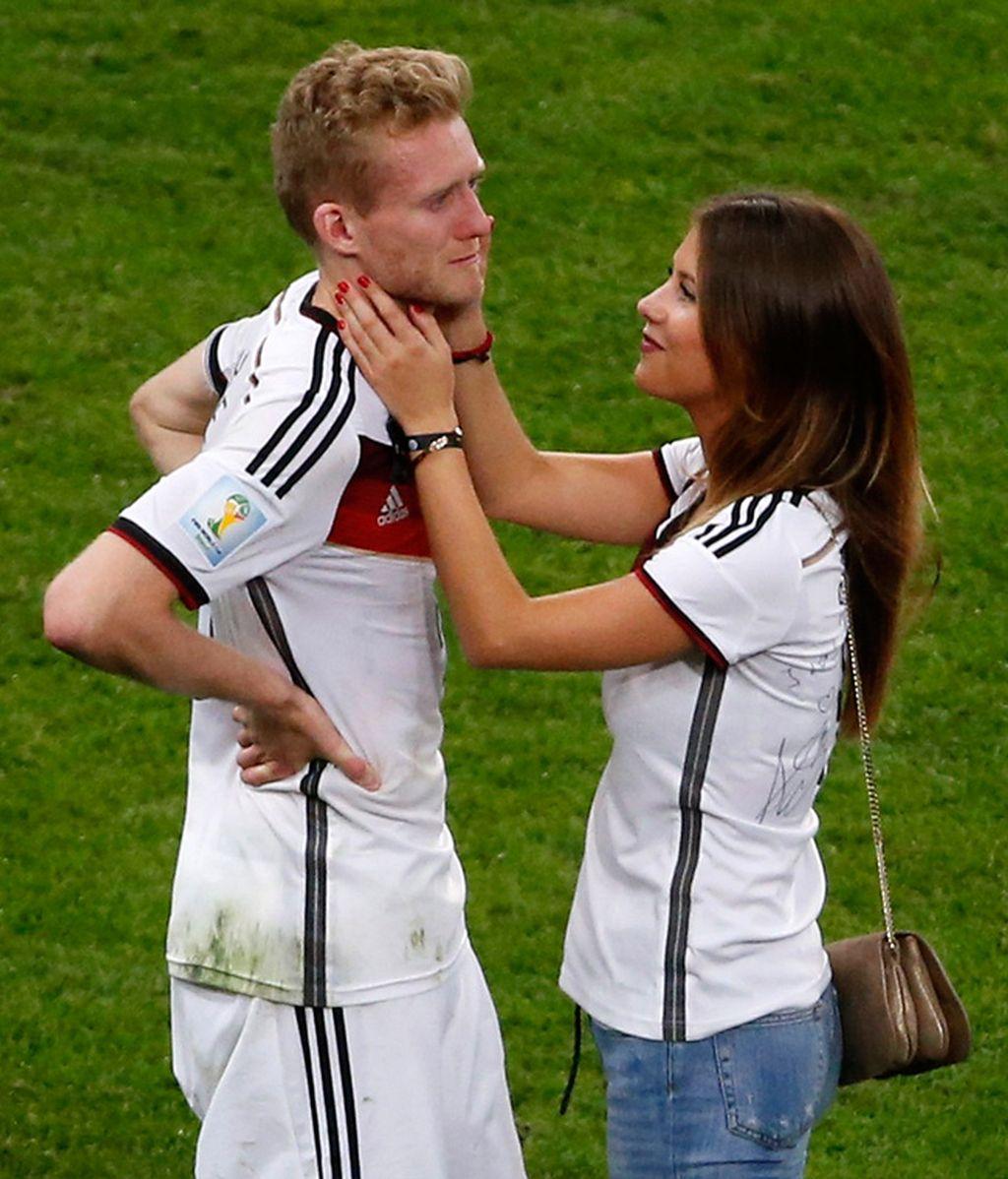 Montana Yorke, novia de Schürrle, apoyó al delantero alemán