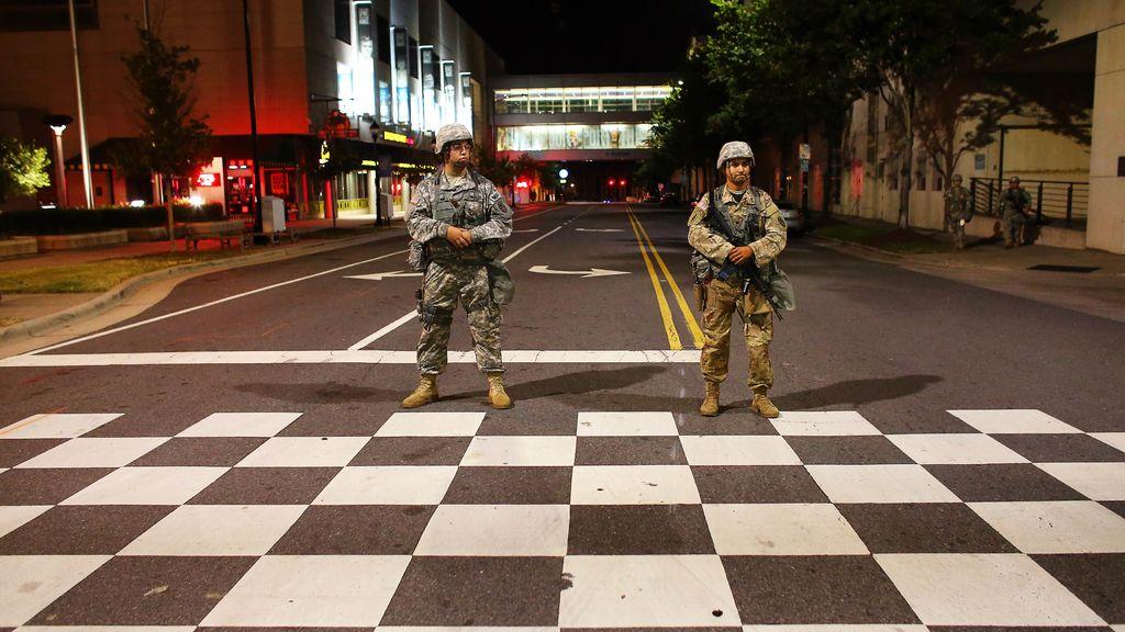 Los soldados llenan las calles en Estados Unidos