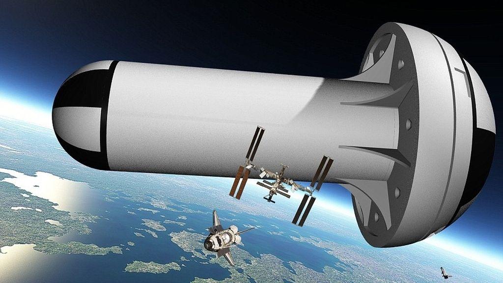 Estación Espacial, gravedad artificial espacio,