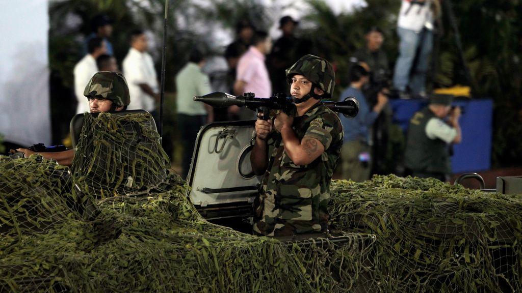 El ejército de Nicaragua está de celebración