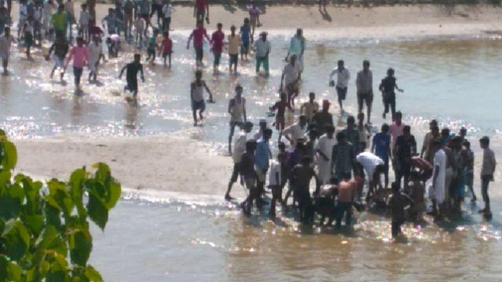 India, ahogado selfie, ahogado selfi, selfies peligrosos