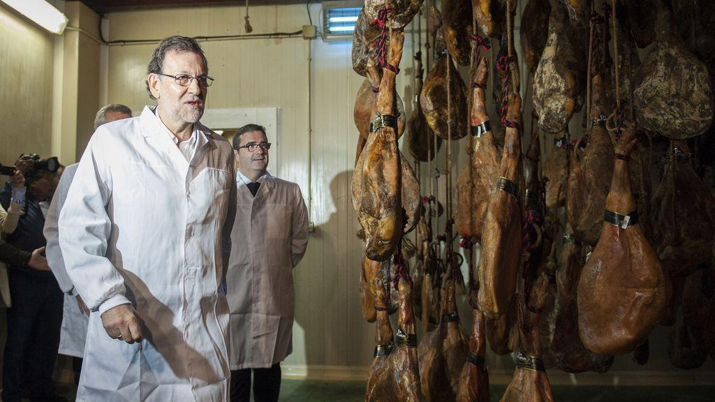 Mariano Rajoy, de campaña en Galicia