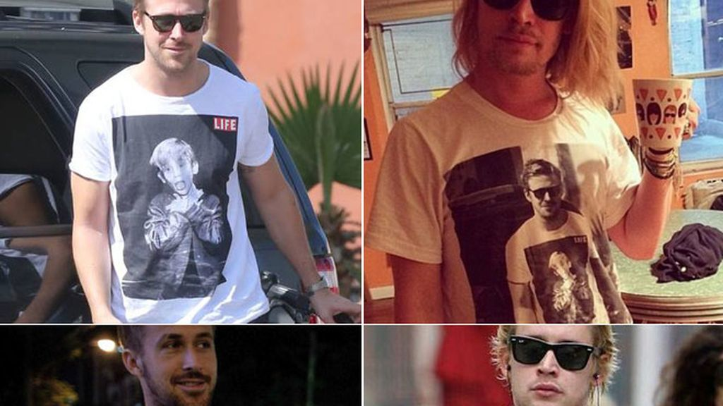 Ryan Gosling y Macaulay Culkin, pecho a pecho