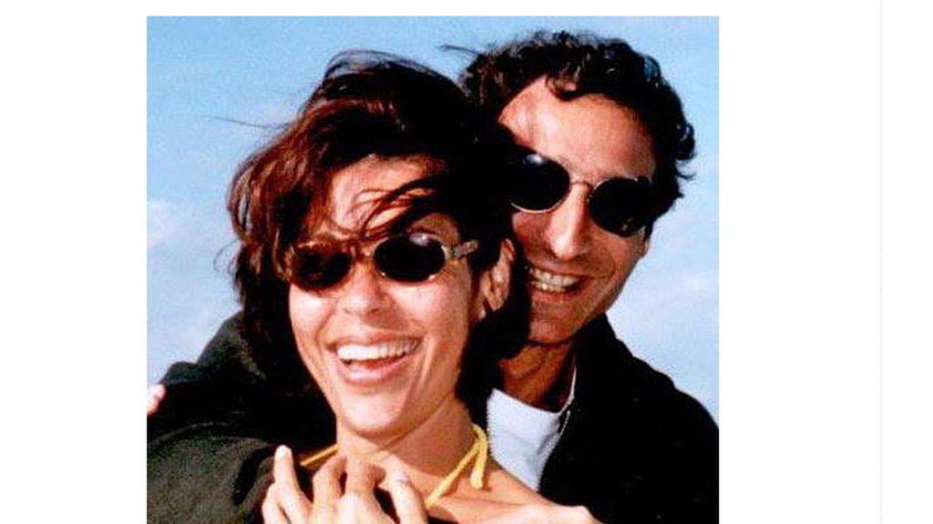 Jeffrey Spector y su mujer