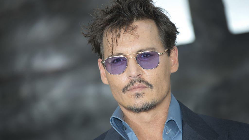 Johnny Depp en la premiere de The Lone Ranger