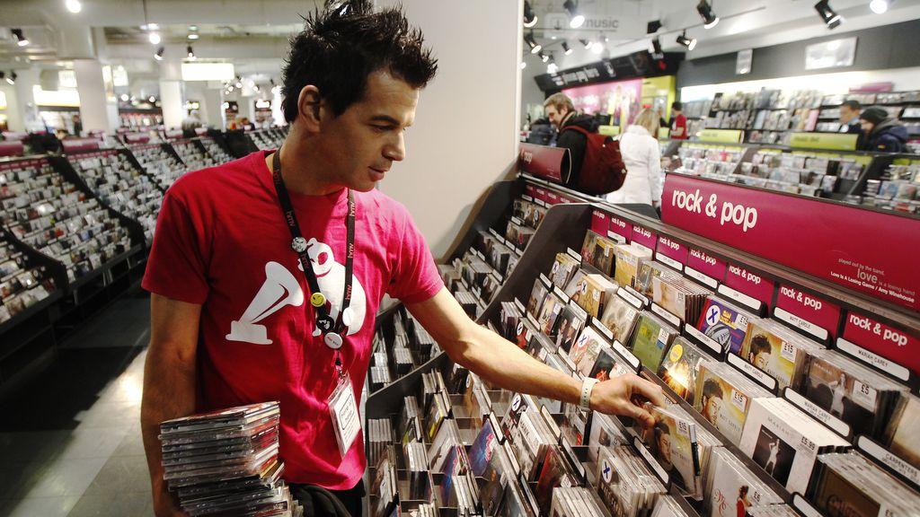 Tienda de discos de Londres