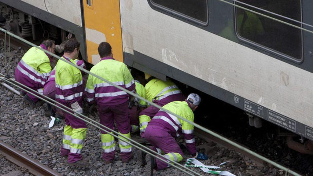 Los servicios ferroviarios gallegos recuperan la normalidad tras el siniestro