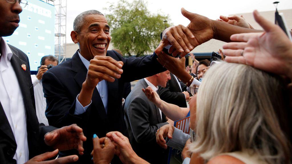 Barack Obama, un apoyo más a Clinton