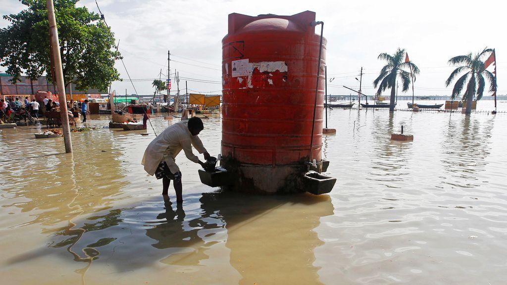 Agua potable, uno de los problemas en India