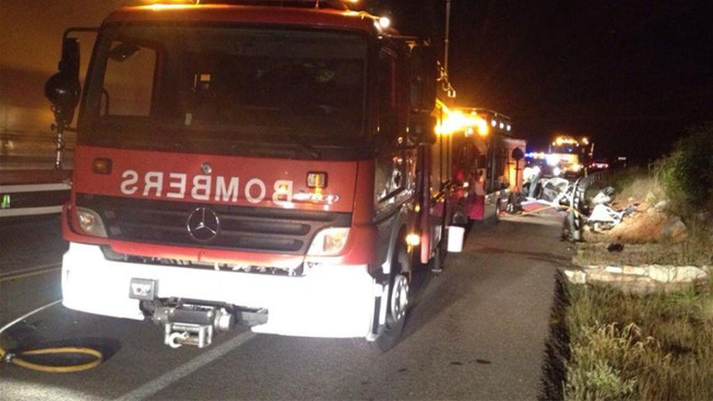 Accidente mortal en Castellón