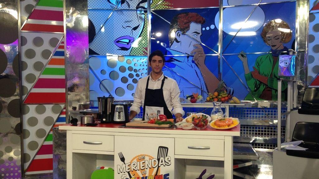 Pedro, el cocinero de las meriendas de Sálvame