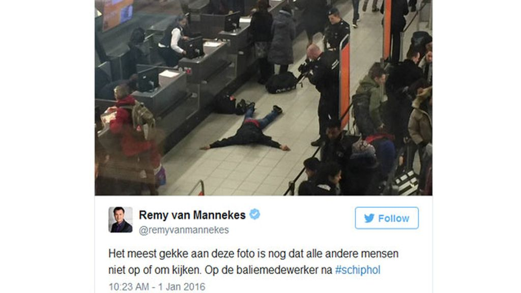 Falsa amenaza de bomba en Schiphol