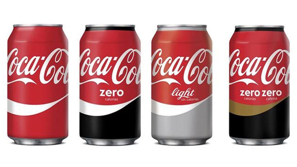 Coca Cola cambia su imagen y tiñe todas las latas de rojo