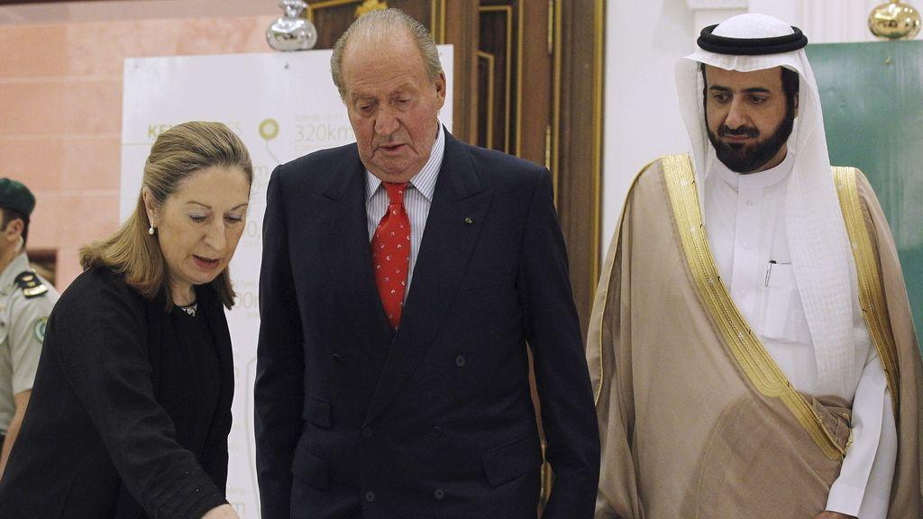 El Rey visita Arabia Saudí. Foto: EFE