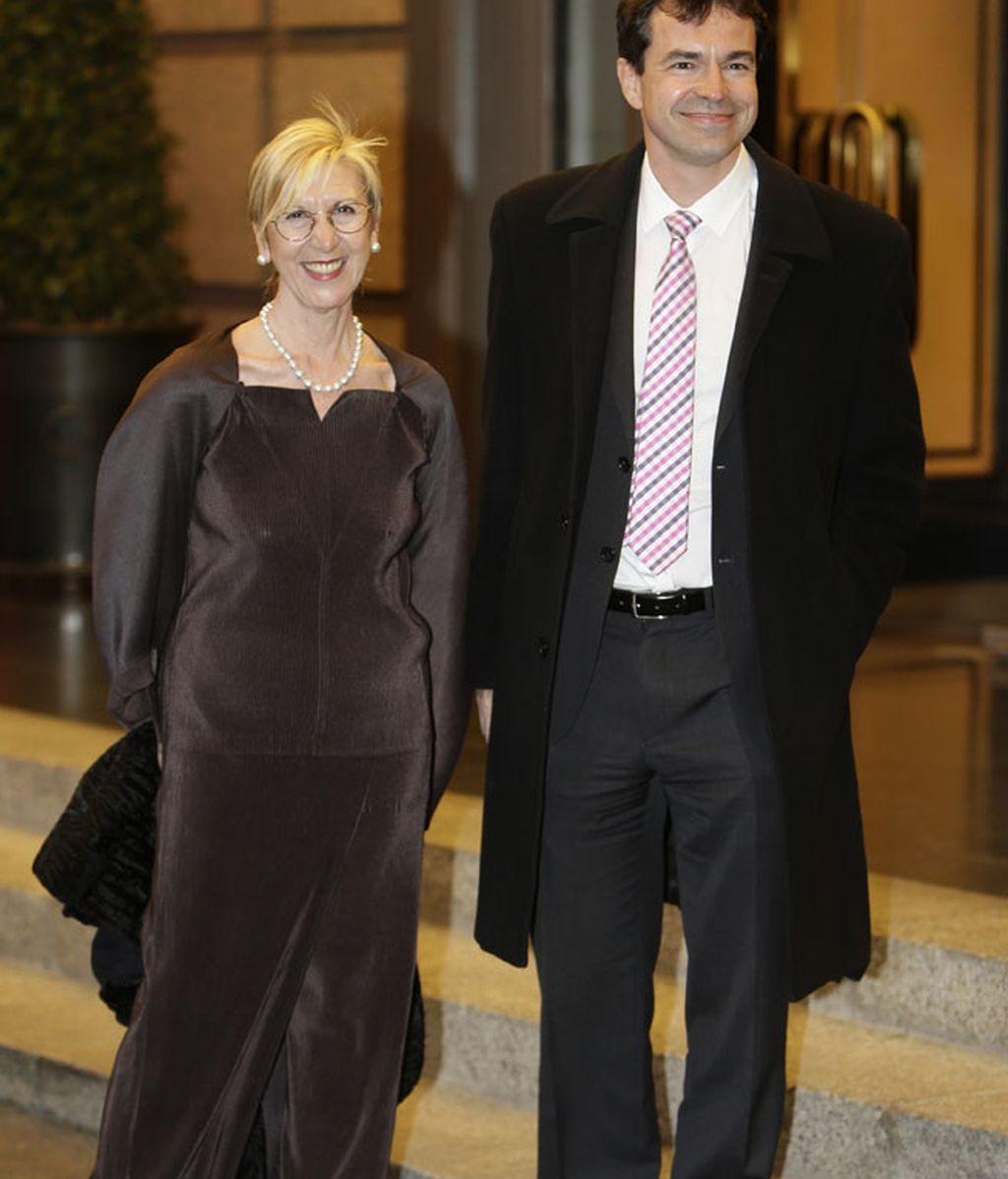Rosa Díez y Andrés Herzog