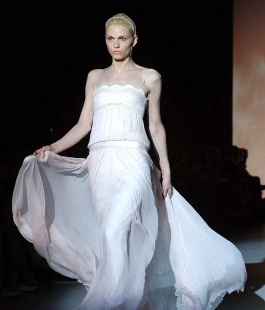 Andrej Pejic, el top model que lució blanca y radiante