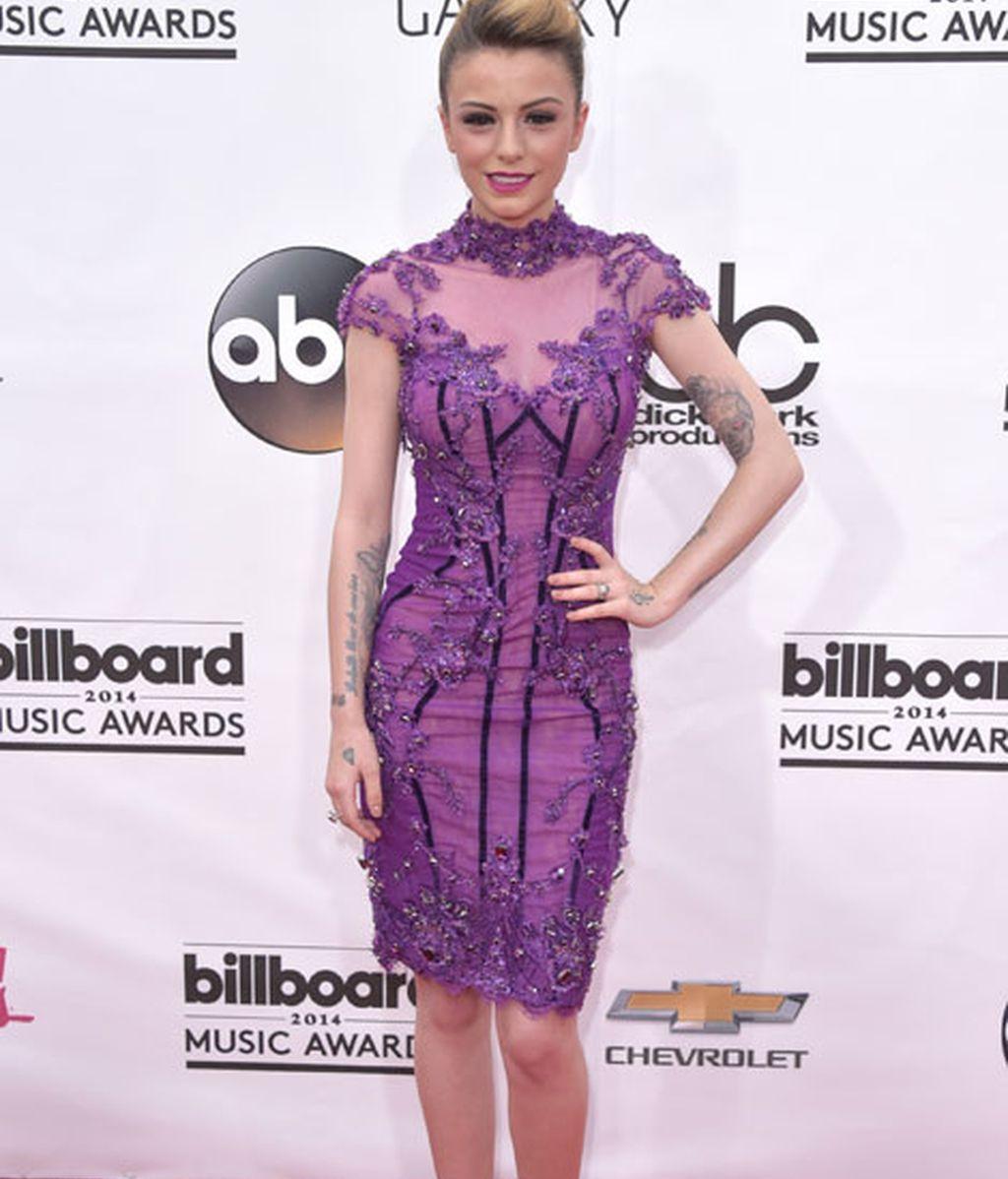 Cher Lloyd vestida de Michael D