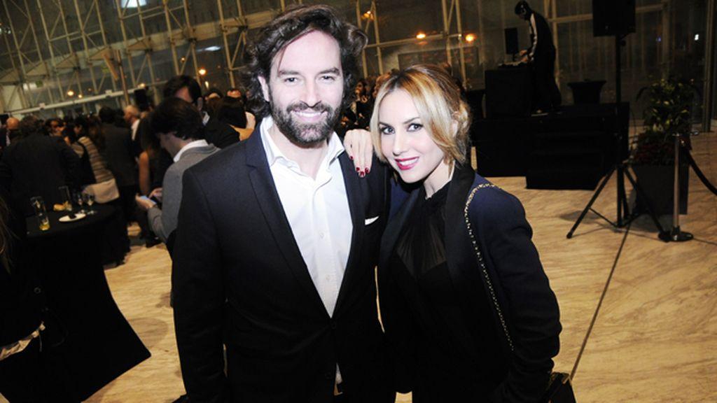 José Ramón Cisneros y Berta Collado