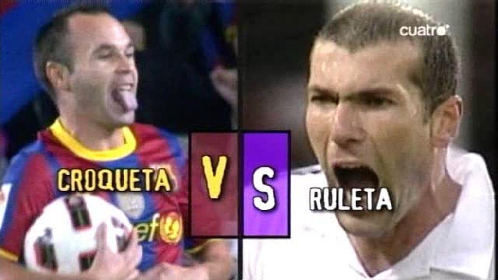 La croqueta de Iniesta o la ruleta de Zidane