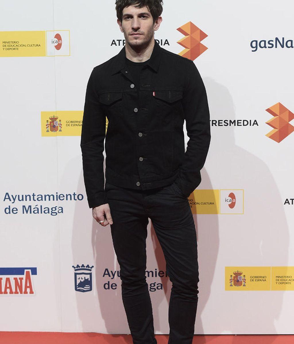 Quim Gutiérrez, protagonista de 'Sexo fácil', con look 'total black'