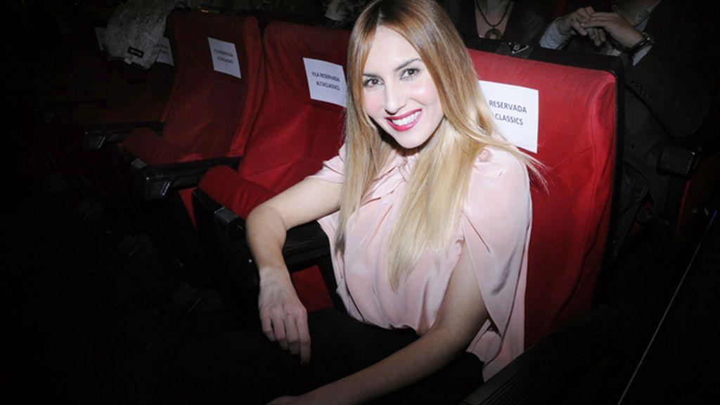 Berta Collado con un total look de Miguel Palacio