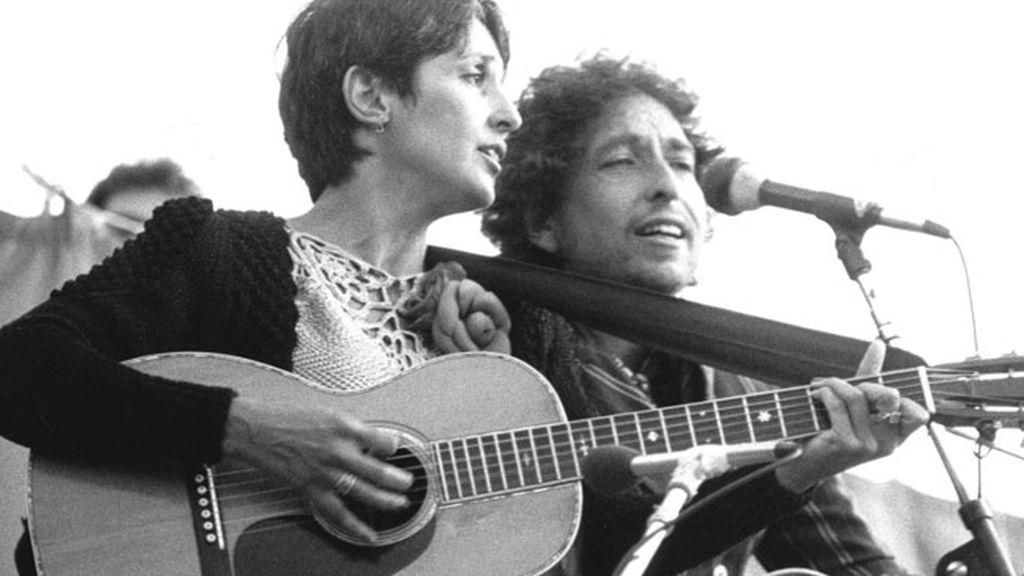 El espíritu de Joan Baez, la filosofía de Bob Dylan