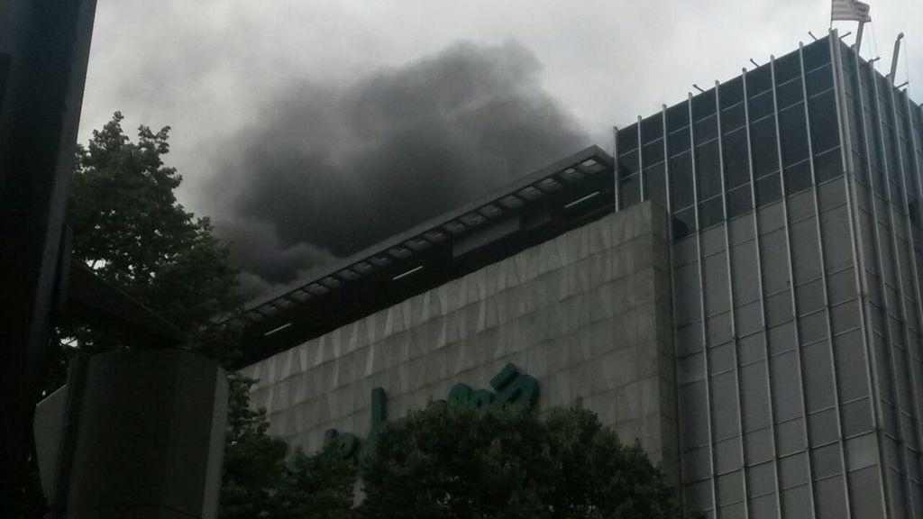 Incendio en El Corte Inglés de Bilbao