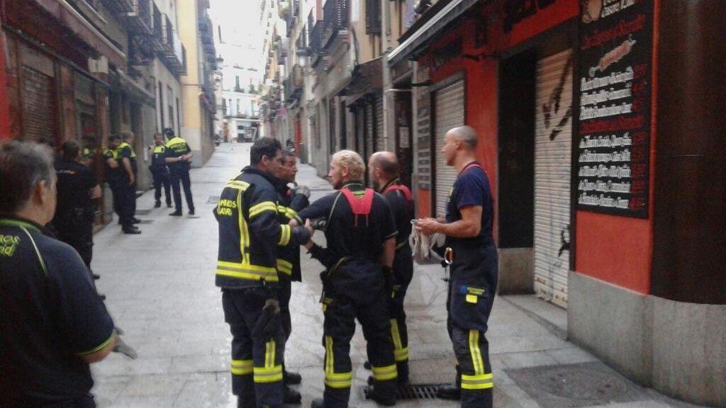 Muere una mujer de 27 años en un incendio en Madrid