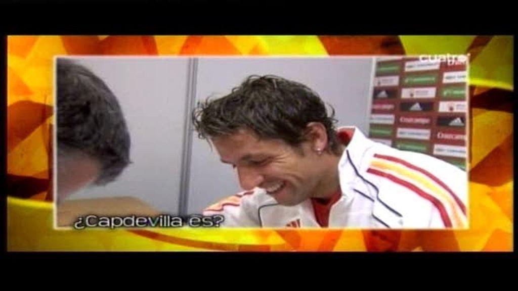 Un minuto sin fútbol con Capdevila