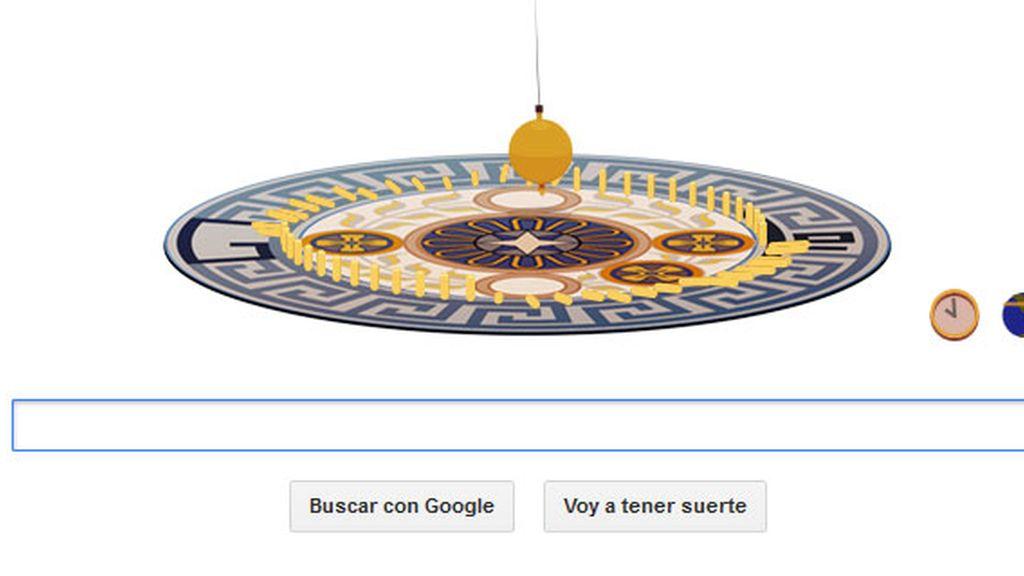 Google recuerda a León Foucault con un doodle