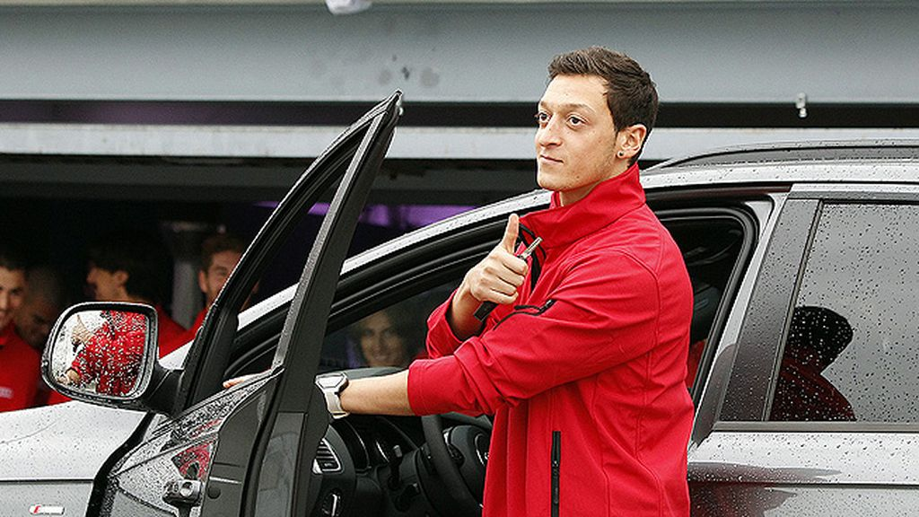 La plantilla del Real Madrid ha recibido sus nuevos Audi