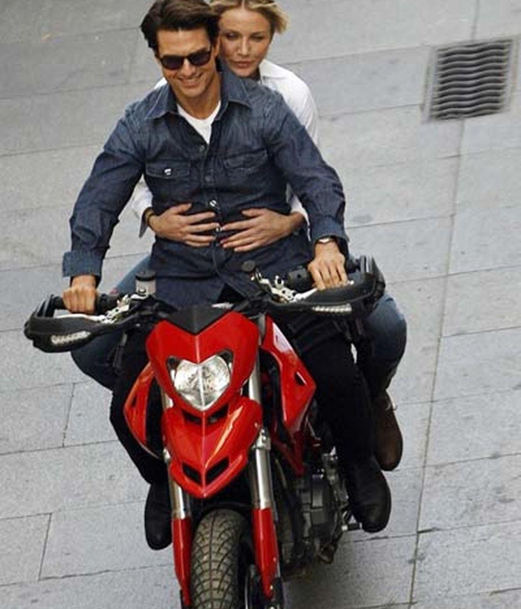 Tom Cruise y Cameron Díaz en Cádiz