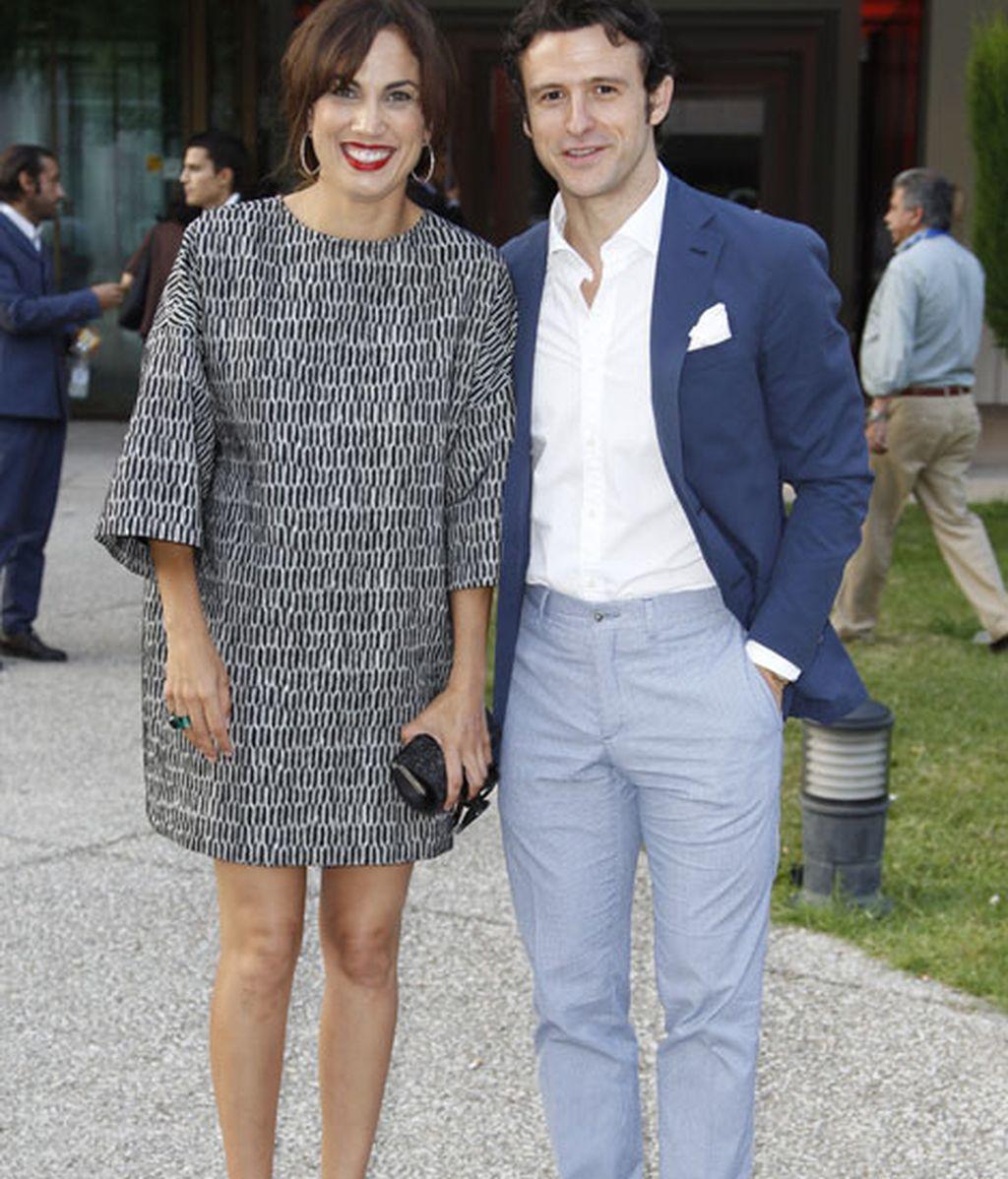 Los actores Diego Martín y Toni Acosta
