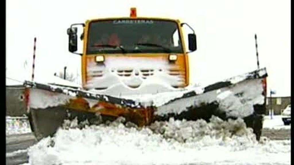 Alerta ante las primeras nevadas