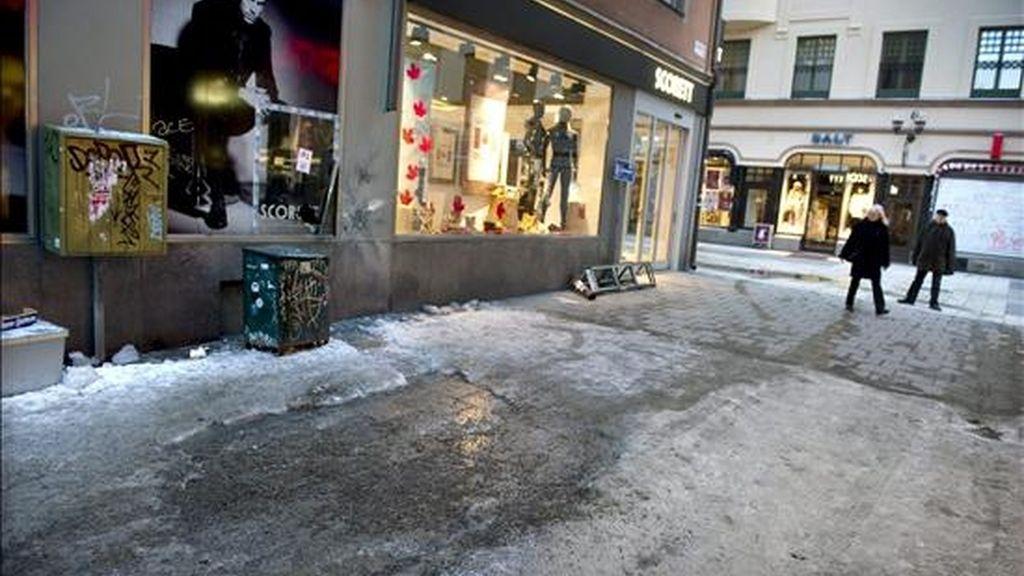 Vista general de la calle Bryggargatan, en el centro de Estocolmo, Suecia. EFE