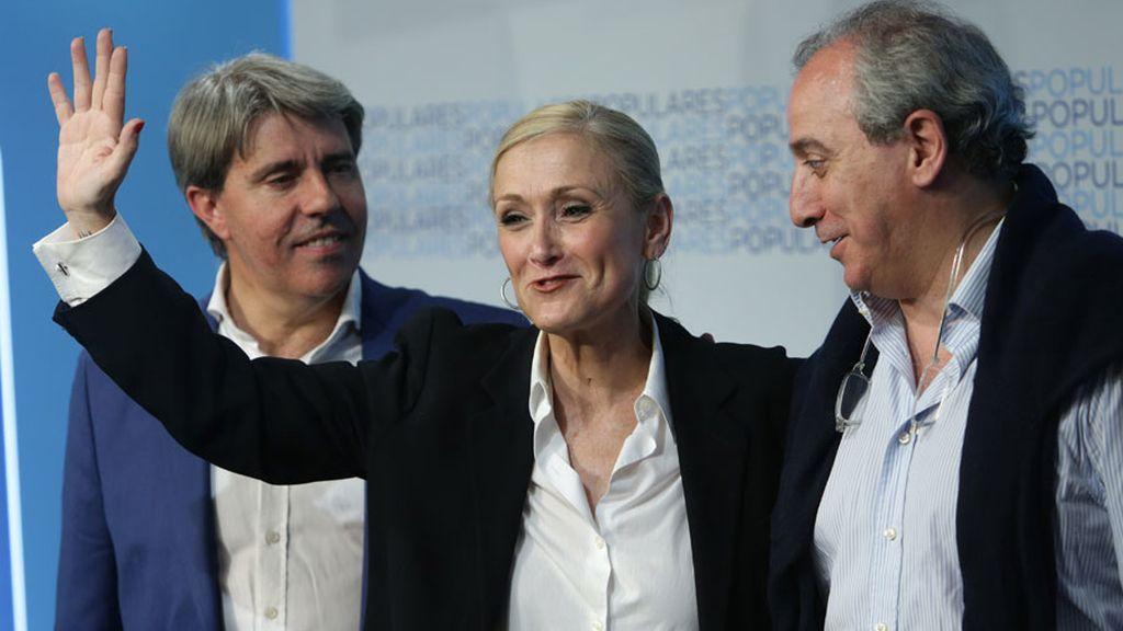 """Cifuentes pide """"colaborar"""" para """"un Gobierno estable"""" en la Comunidad de Madrid"""