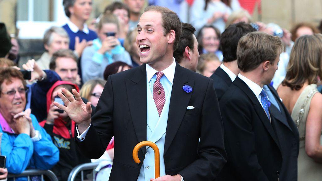 El príncipe Guillermo, sin Kate