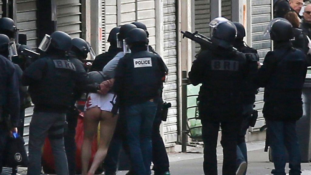 Detención en Saint Denis