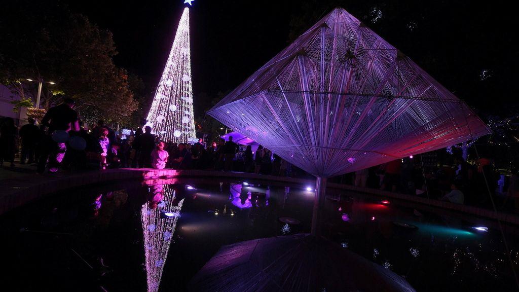 El árbol de Navidad con más luces del mundo