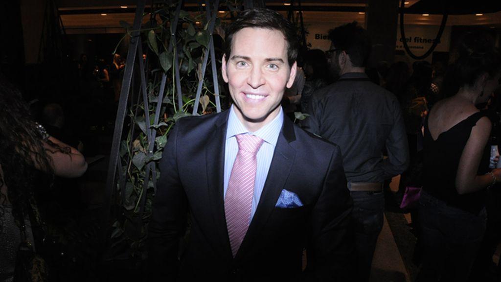 David Meca fue uno de los invitados a la fiesta de Lorena Morlote