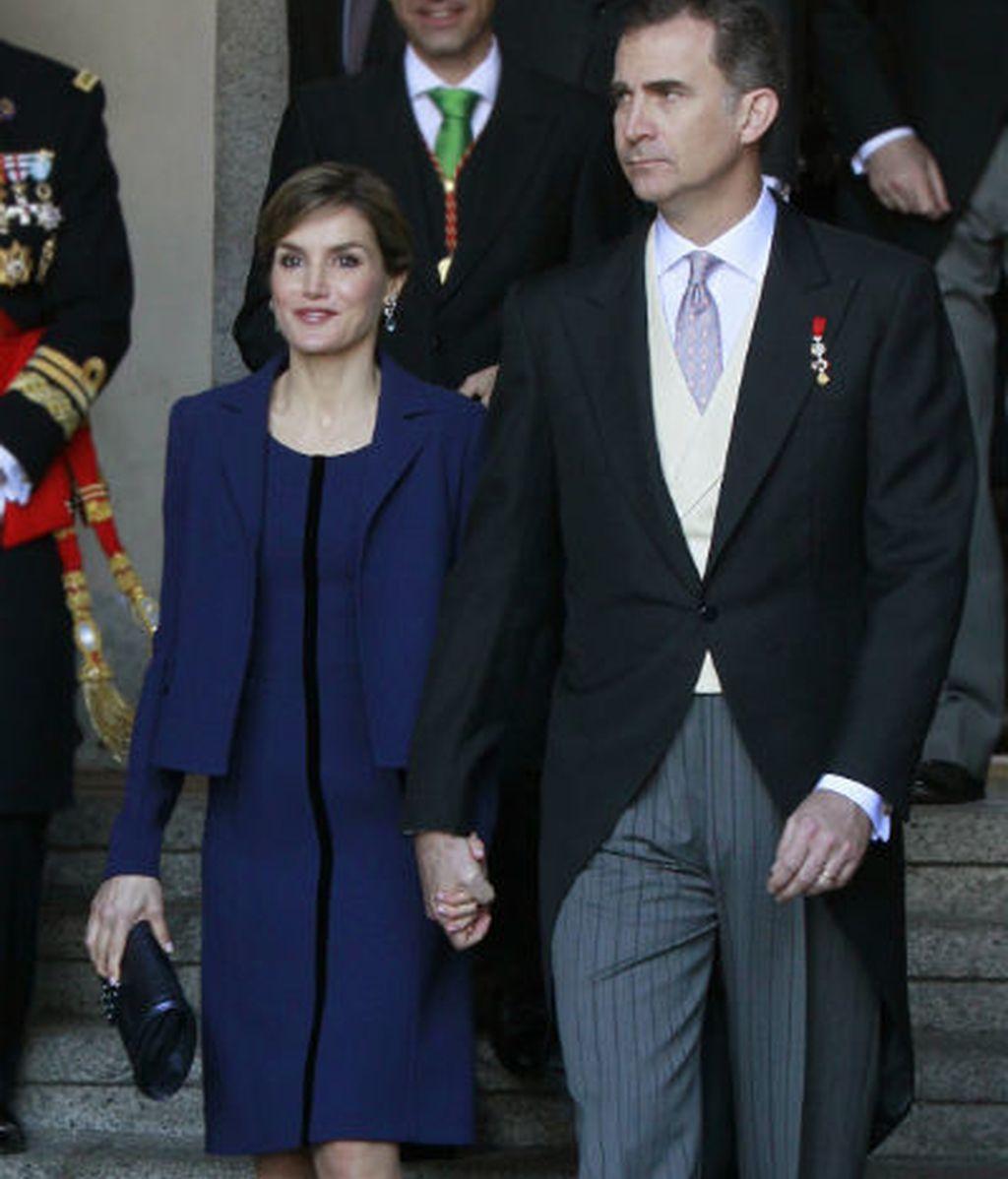 Felipe VI y Leticia