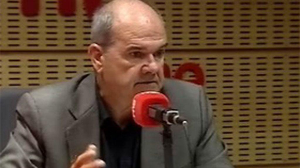 Maanuel Chaves, en RNE