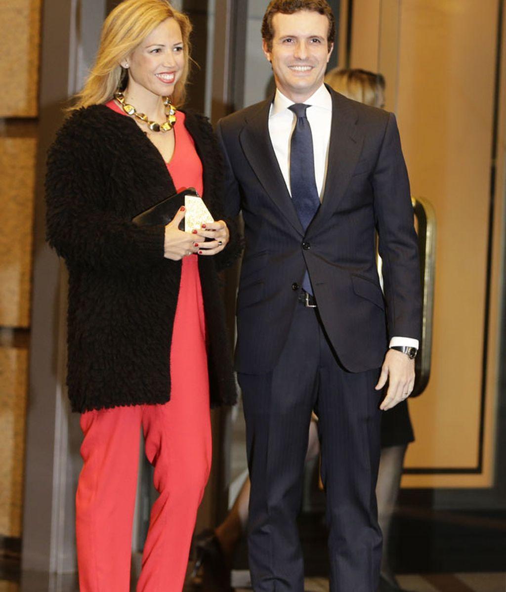 Pablo Casado y su mujer Isabel Torres