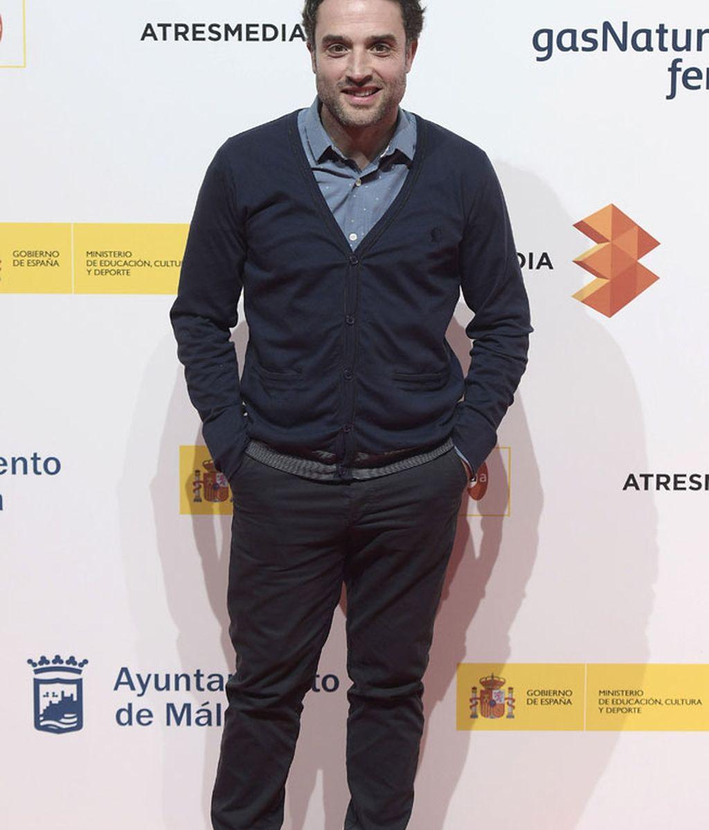 Daniel Guzmán, durante la presentación del 18 Festival de Cine de Málaga