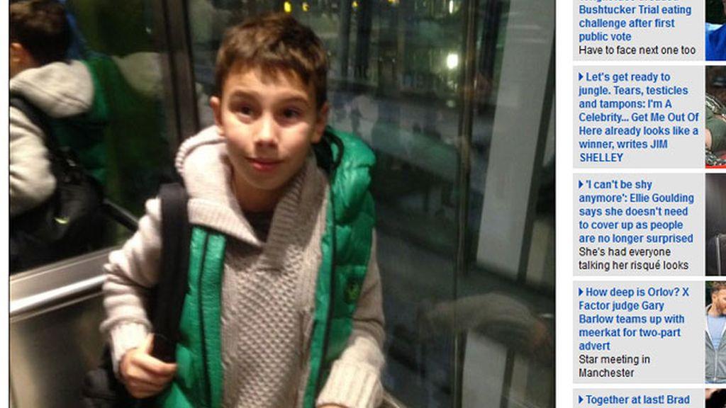 Nikolay Gorashenko, niño ruso, perdido