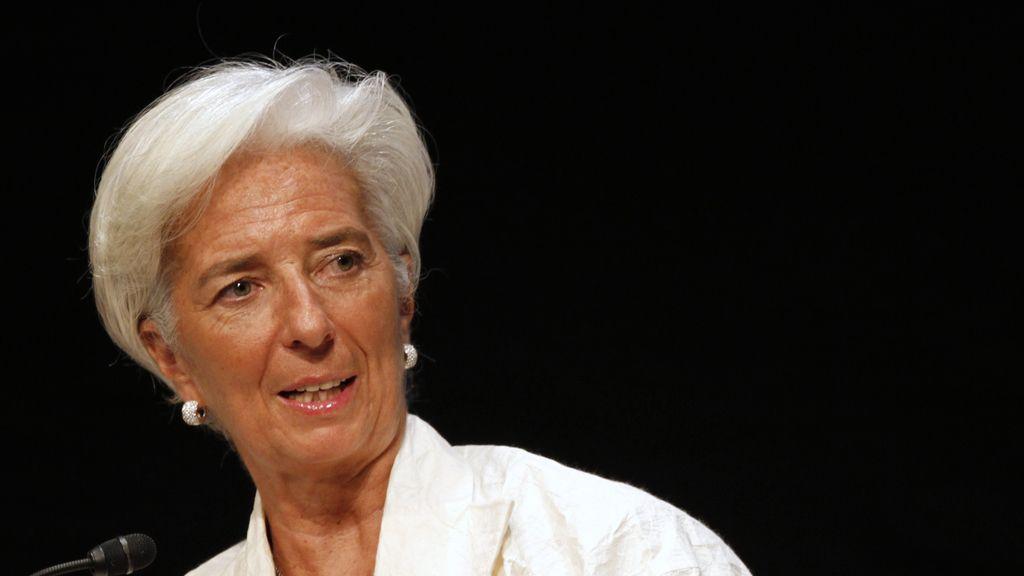 Christine Lagarde en visita a Japón