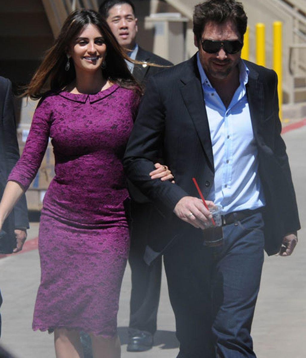 Penélope y Bardem, de la mano por Hollywood Boulevard