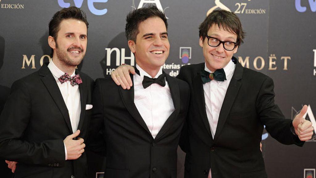 Julián Lopez, Ernesto Sevilla y Joaquín Reyes