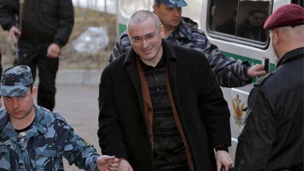 Proceso al magnate ruso Jodorkovski